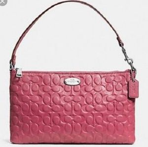 Beautiful COACH Signature C Embossed Leather Demi